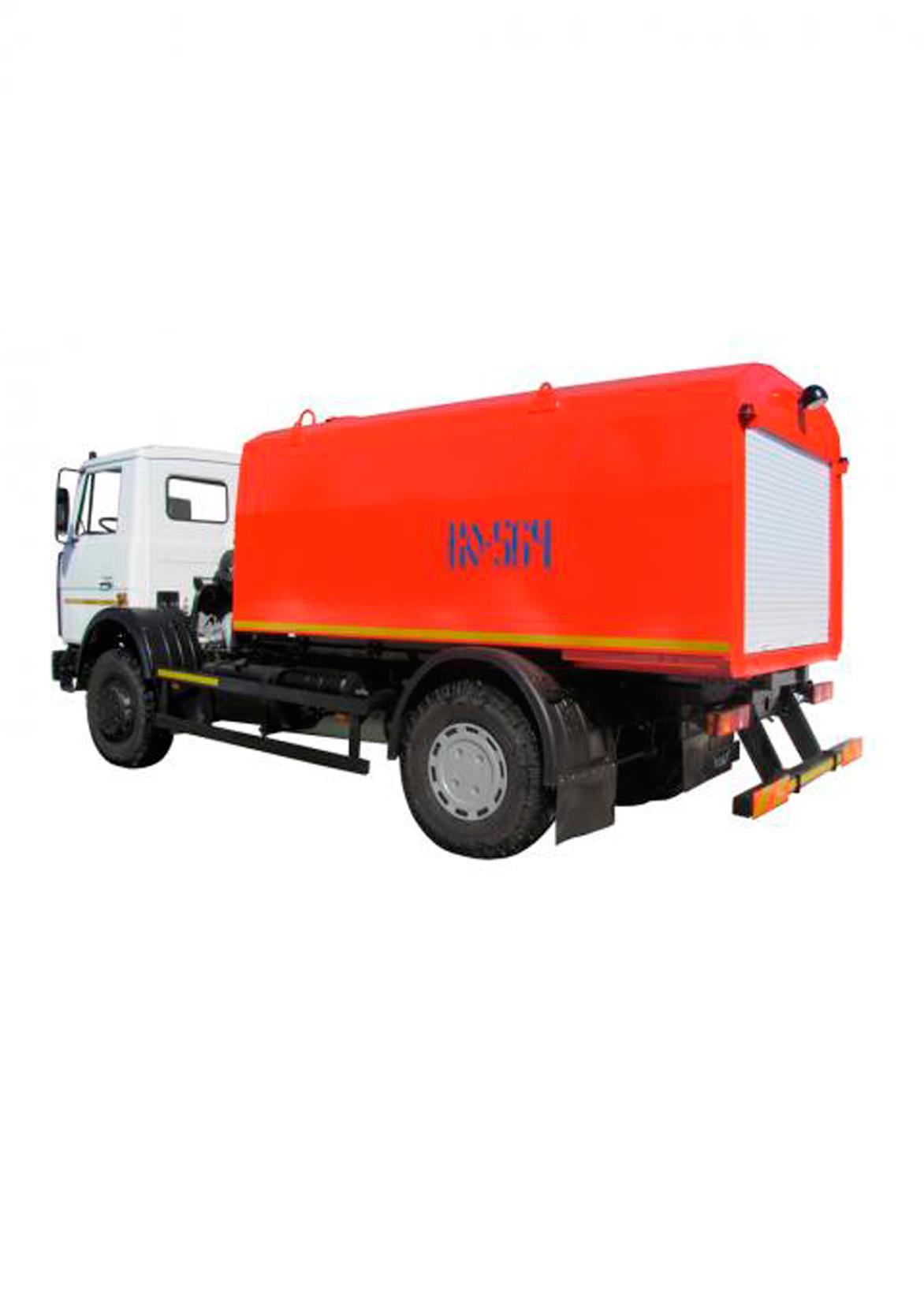 Гидродинамическая (каналопромывочная) машина КО-564Б-30